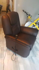 Electric recliner and lift arm chair