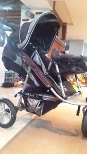 Valco baby runabout.stroller with joey seat , double