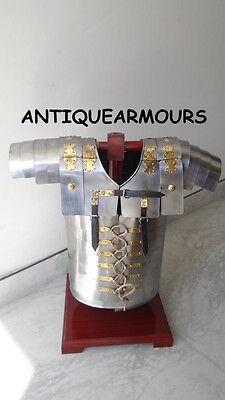 Lorica Segmentata Roman Legionare Armour Steel Leather Strap Warrior Costume