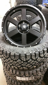 FRD TR-4 Black Truck Wheel Rim Chevrolet Silverado GMC Sierra Ford F-150 Dodge RAM MPI FINANCING AVAILABLE