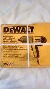 "DeWalt heavy duty 1/2"" (13mm) impact wrench."