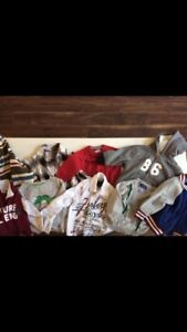 Huge lot of boys 12-18 months clothing and shoes!