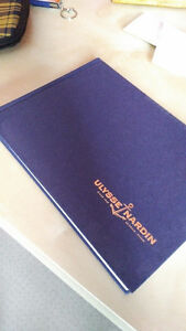 Rare Ulysse Nardin Salesbook - Book of Watches - Collectible
