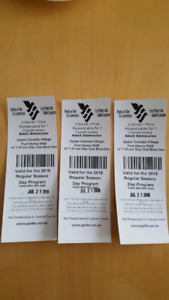 3 Upper Canada Village tickets