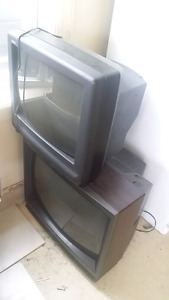 """20"""" and 24"""" TVs, both for $75"""