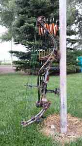 Hoyt Ultratec Bow and Gear