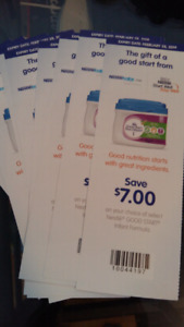 Similac and goodstart baby formula coupons for trade