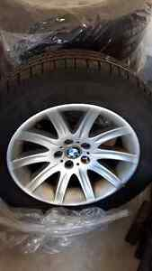 255/55/r18 tires on rims for 2010 X5d Kitchener / Waterloo Kitchener Area image 2