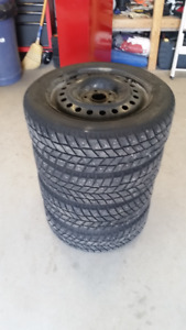 Tires and Rims - 205/55/16- Studded