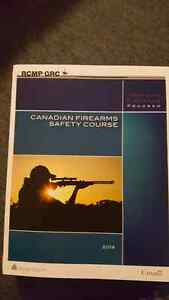 Canadian firearms safety course books