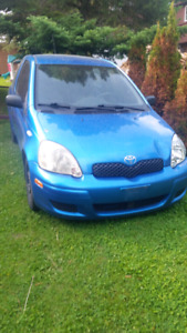 2005 toyota echo for parts.