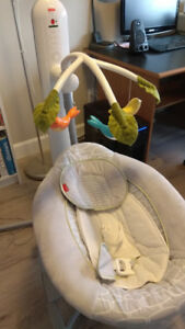 Fisher price 4-in-1 motion cradle 'n swing