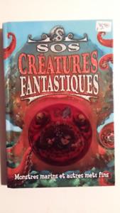 3 livres Créatures Fantastiques neufs