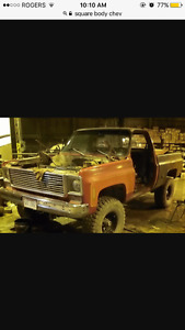 Looking to buy a 1970-1987 Pickup Truck