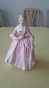 "Royal Doulton Figurine ""Hostess of Williamsburg"""
