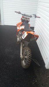 2009 KTM 85SX, Vforce reeds, Fresh rebuild, new fork seals