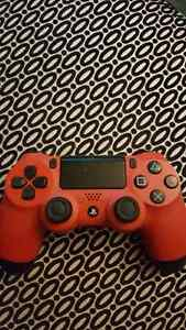Rarely used PS4 red controller
