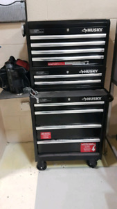 27 inch husky complete tool cabinet