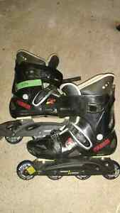 Roller blades tecnica size 11.5