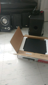 Blu ray player and stereo system