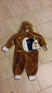Halloween Lion Costume New with Tags Child size Small