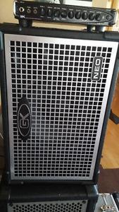 Ampli bass Gallien-Krueger MB 800 FUSION et cab G-K Neo 1 x 12''