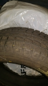 2 x winter tires 195 65 15