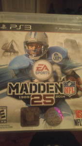 Ps3 game madden 25