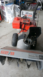 Craftsman 8hp snowblower with electric start