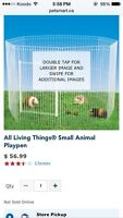 Looking for animal fencing/ playpen