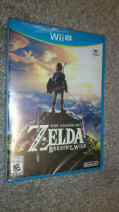 Breath of the Wild - Wii U [Brand New / Sealed]