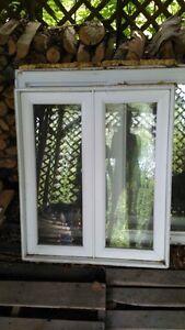 Fenêtres usagées