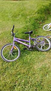 Various kids bikes