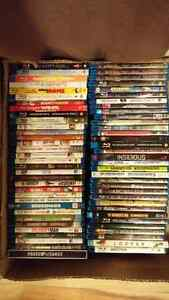 70 Blu-Rays (DVDs in other ads)