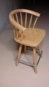 Bar Stool  swivel captains chair