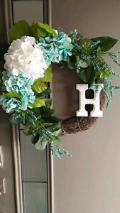 BEAUTIFULLY HANDCRAFTER FLORAL WREATHS