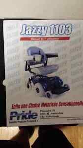 Chaise roulante motorisé