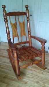 Table et chaise en bois