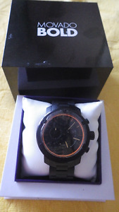 MOVADO BOLD Bold Round Extra-Large Chronograph Watch