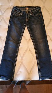 True Religion straight cut stretchable jeans