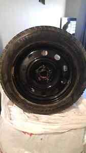 4 set Good Year UltraGrip Winter Tires 235/55/17 & winter rims