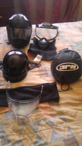 *** GREAT DEAL***Variety of street bike helmets and accessories