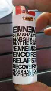 HTF RARE EMINEM BIC LIGHTER