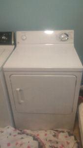 Washer and dryer plus 2 loveseats