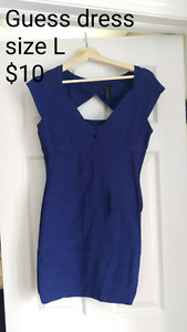 Dark blue guess dress