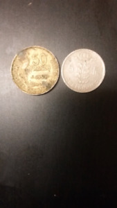 Coins of France.