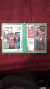 Nascar cards of Jeff Gordon
