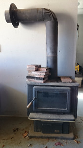 Pacific Energy Vista wood burning fire place