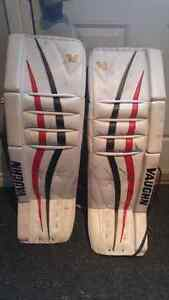 Vaughn Goalie Pads and Gloves