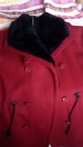 Winter jacket for woman.